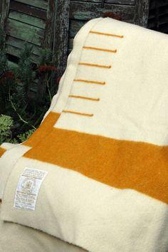 Vintage Hudson Bay Blanket $255