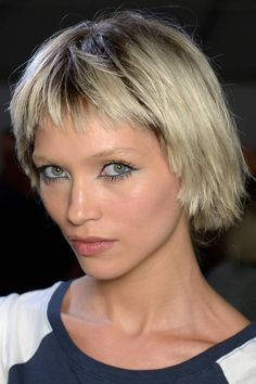 The Hottest Hairstyles for Spring/Summer 2014 choppy bob