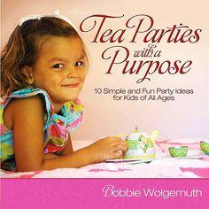 tea parti, tea party for kids, parti idea