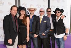 "Cast and Crew of 50-1 at 30th Annual Breeders' Cup ""Songs In The Saddle: The Infield Music Fest"""