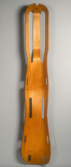 Charles & Ray Eames, Leg Splint, 1943. I don't see many of these splints at my hospital - none in fact!  So sad, they look quite functional!