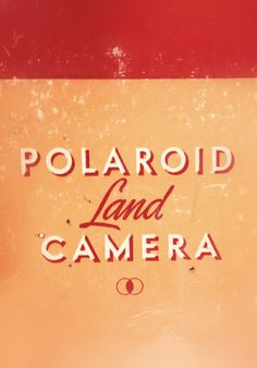 Type Hunting: Polaroid #typography
