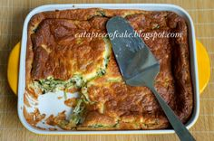 Spinach and Cheese Souffle