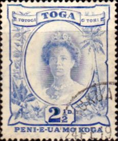 Tonga 1920 Queen Salote SG 59 Fine Used Scott 58 Other Tonga Stamps HERE
