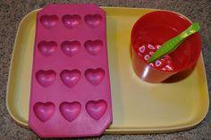 The Iowa Farmer's Wife: Valentine Tot Preschool: Trays