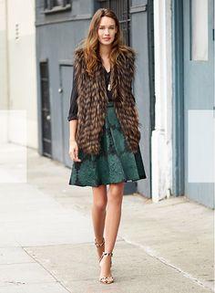 Vest + Skirt