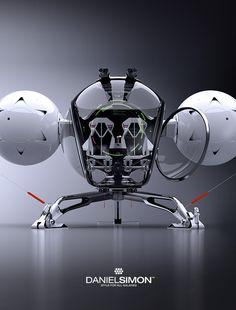 Hollywood: 'Oblivion' Bubbleship Design
