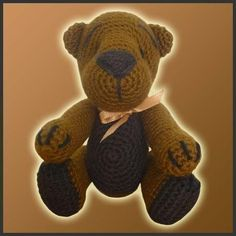 Teddy Bear by Delicious Crochet