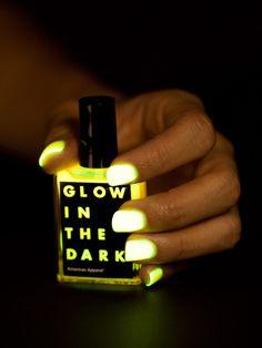 American Apparel - Glow in the Dark Nail Polish $6
