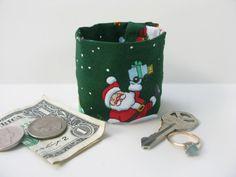 KIDs Secret Stash Money Cuff Santa  hide your by bluepiedesigns, $10.00