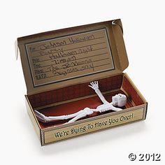 Coffin Invitations In A Box
