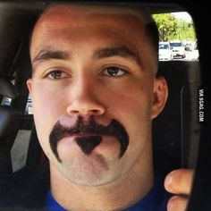 Batman Mustache. I support this.