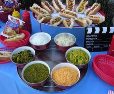 outdoor movie night ideas | Outdoor Movie Night/Party Ideas / Outdoor Party for movies ...