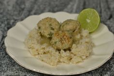 Thai Green Curry Turkey Meatballs for #WeekdaySupper