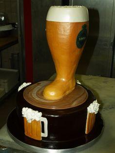 Beer Groom's cake
