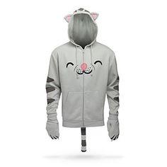ThinkGeek :: Soft Kitty Hoodie