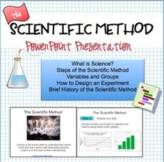 FREE notes on the scientific method- great start for the new school year!