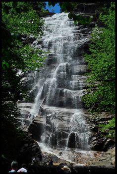 Arethusa Falls in New Hampshire, courtesy Anastasia Maria DiMarca.