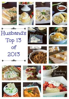 Husbands Top 13 of 2013 at Dinners Dishes & Desserts