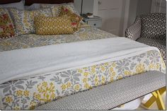 Picnic bench to upholstered bedroom bench tutorial