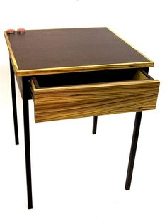 Night Stand Table with drawer by DLdesignworks on Etsy