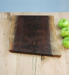 Large Natural Edge Walnut Cutting Board No. 103. $64.00, via Etsy.