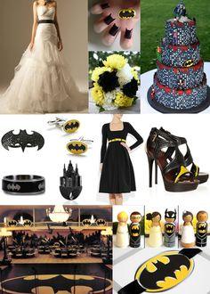 Batman Inspiration Board
