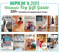 Over 250 of the most engaging educational toys out there - the only gift guide you'll need this year! (love the detailed descriptions and age recommendations)