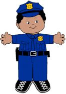 Police Officer Paper Doll Clothes