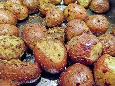 Whole Baby Potatoes with Indian Spices