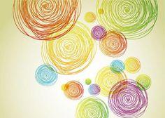 scribbly circles