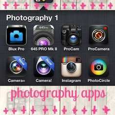 Photography iPhone apps 1