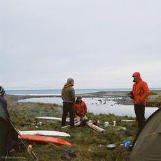 Camp, Iceland, September 2012, James Bowden