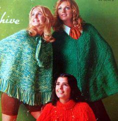 70's ponchos!