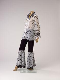 "Gianni Versace (Italian, 1946-1997), ""Ensemble,"" 1980s; Indianapolis Museum of Art, Textile Arts Discretionary Fund, 2010.233A-C"