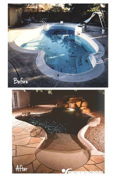 Beach Entry Pool Remodel