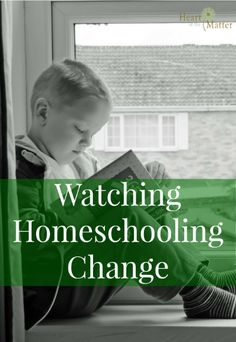 Watching Homeschooling Change