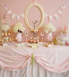 bridal shower buffet