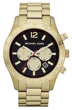 Michael Kors 'Large Layton' Chronograph Watch available at #Nordstrom