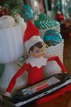 The Elf On A Shelf ideas