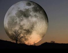 Super Moon-closest to the Earth ever!
