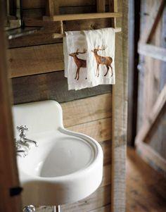 cool barnwood bath