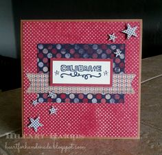 Card by Hillary Harris using Birthday Bash from Verve.  #vervestamps
