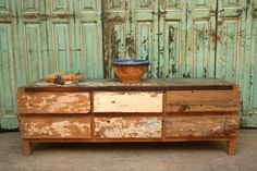 Recycled Bali Chest of Drawers - Sharland & Lewis chest of drawers