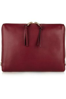 lace leather, chloe leather, leather ipad, gadget, bag