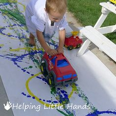 Painting with Cars and Trucks