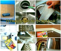 25 Thorough Cleaning Tricks For The Neat Freak | DIYSelfies
