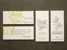 not sure how these are invites but i like the style of writing