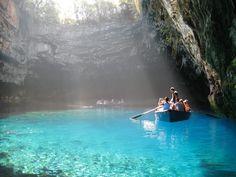 One of the Ionian islands in Greece, Kefalonia
