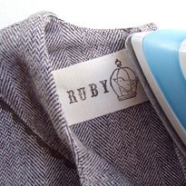 Hand-Stamped Clothing Labels